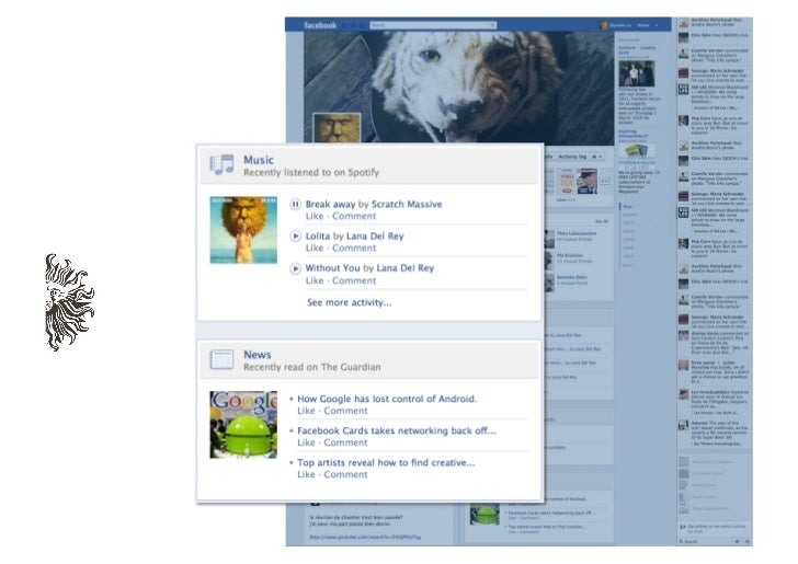 TIMELINE ALLOWS FACEBOOKTO KNOW YOUR DETAILEDDIGITAL HISTORY, NOT JUSTYOUR CURRENT PROFILE