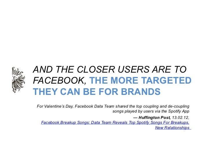 """IMPROVED TARGETINGIMPROVES EFFICIENCY             """"Facebook Sponsored Stories Ads Have 46% Higher CTR""""                    ..."""