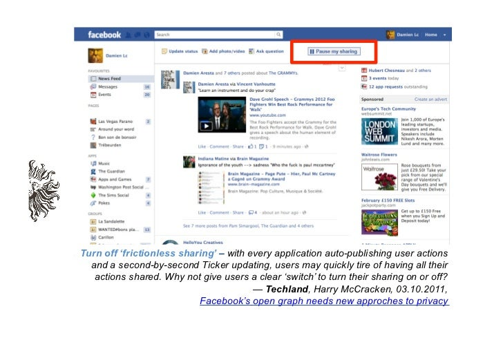 #9.  WHAT IF FACEBOOK EXTENDSITS AD NETWORK TO OTHERWEBSITES?