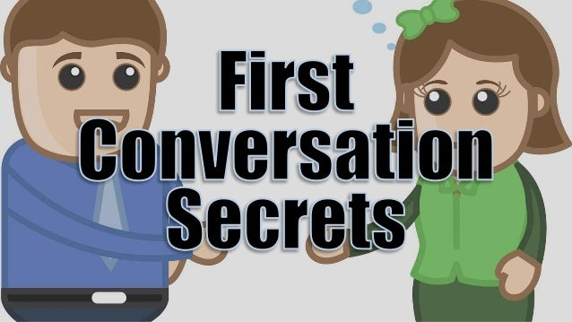 There's two pretty diverse schools of thought when it comes to talking to girls, especially the first time.
