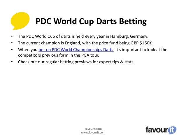 Premier League Darts Betting