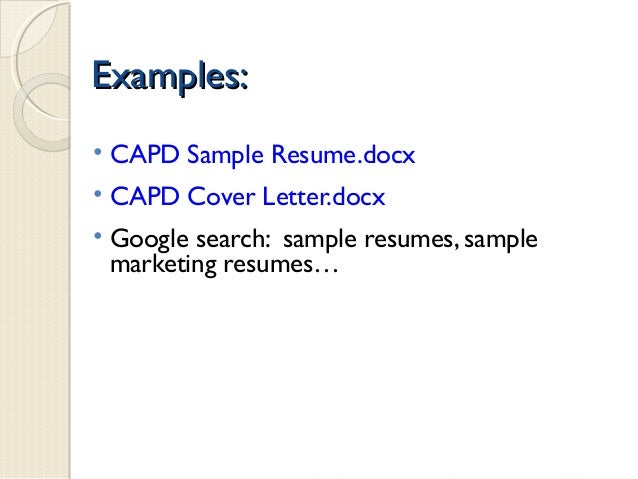 how to create a professional resume 2015
