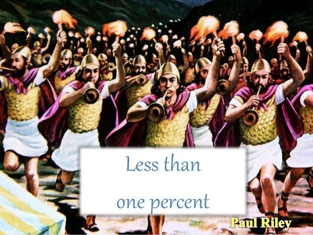 Less than one percent