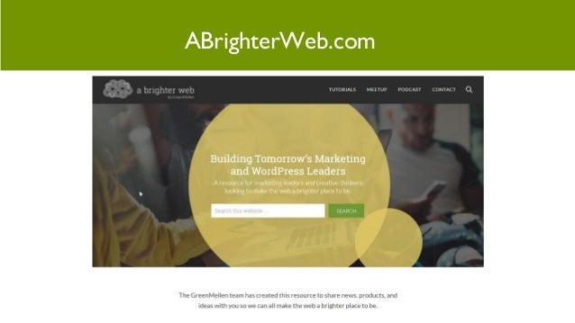 Meetup: The big change coming to WordPress in 2018 - Gutenberg Slide 3