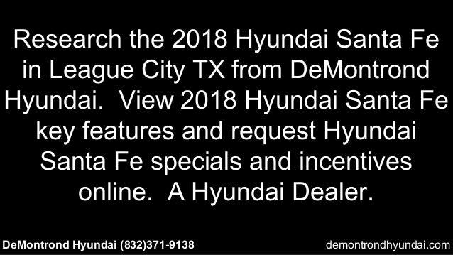 Preview 2018 Hyundai Santa Fe L League City Tx Area