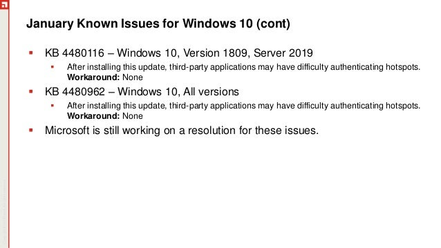 January Patch Tuesday 2019