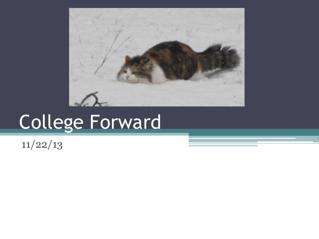 College Forward11/22/13