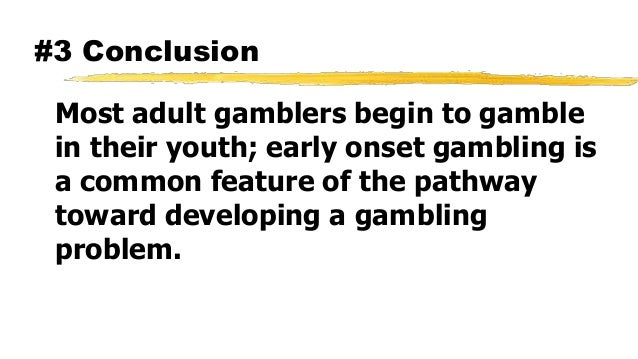past studies about lottery gambling