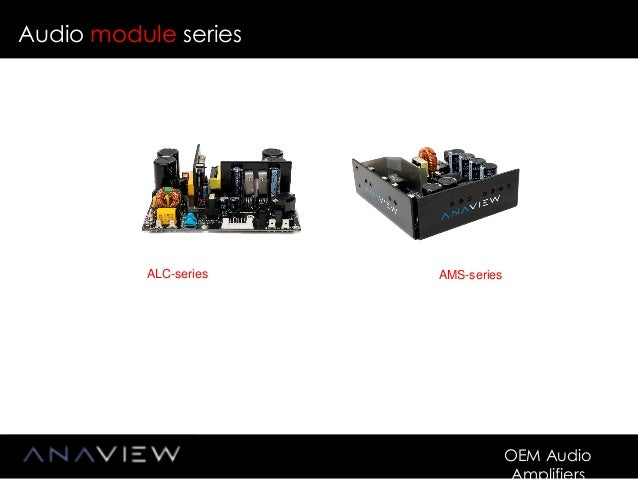 ANAVIEW Class-D OEM Amplifier Boards for the Audio Industry