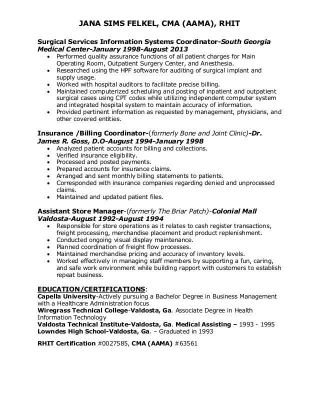 Jana felkel\'s resume