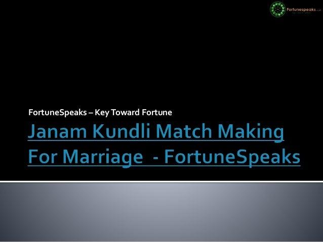 match making of kundali
