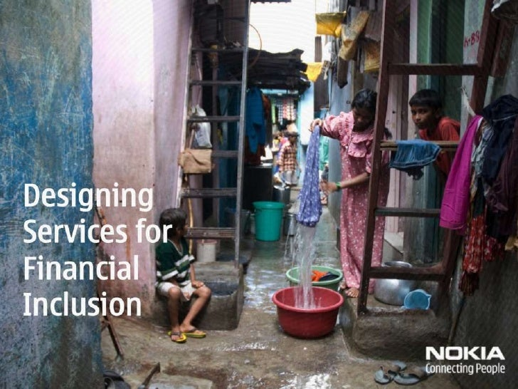 Designing Services for Financial Inclusion