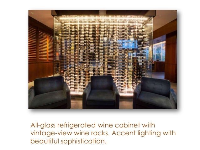 5. All Glass Refrigerated Wine Cabinet ...