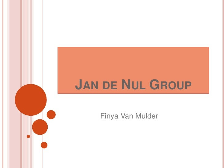 Jan de Nul Group <br />Finya Van Mulder<br />