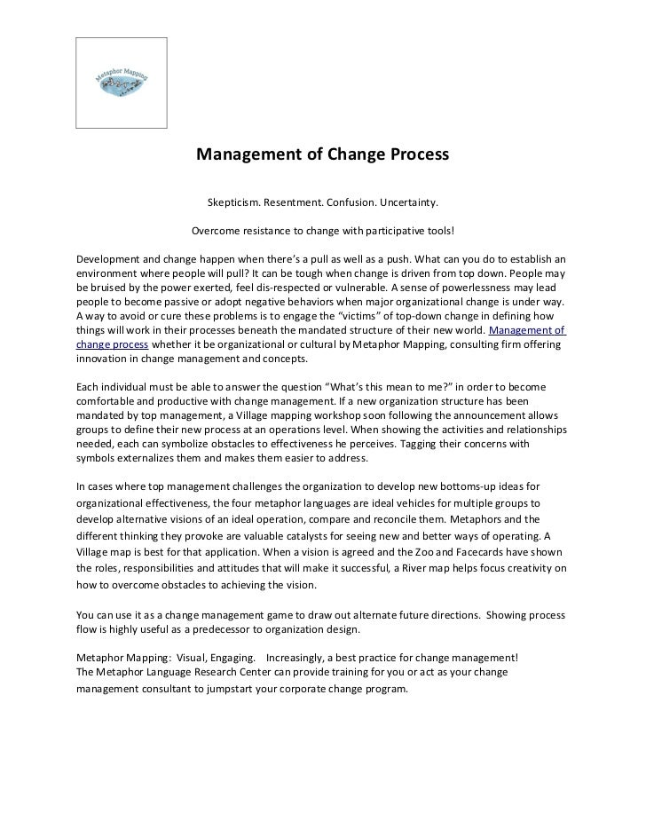 Management of Change Process