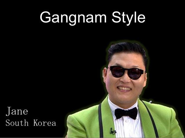 Gangnam Style Jane South Korea
