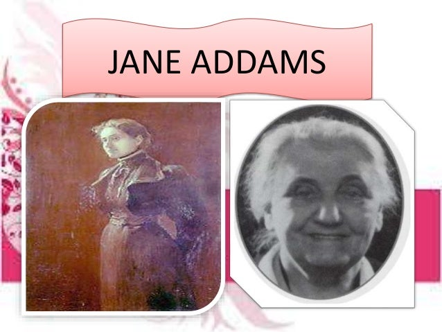 jane addams and assignment Enrollment information students entering 6th grade from k-5 school will generally receive an initial assignment to their jane addams garfield:.