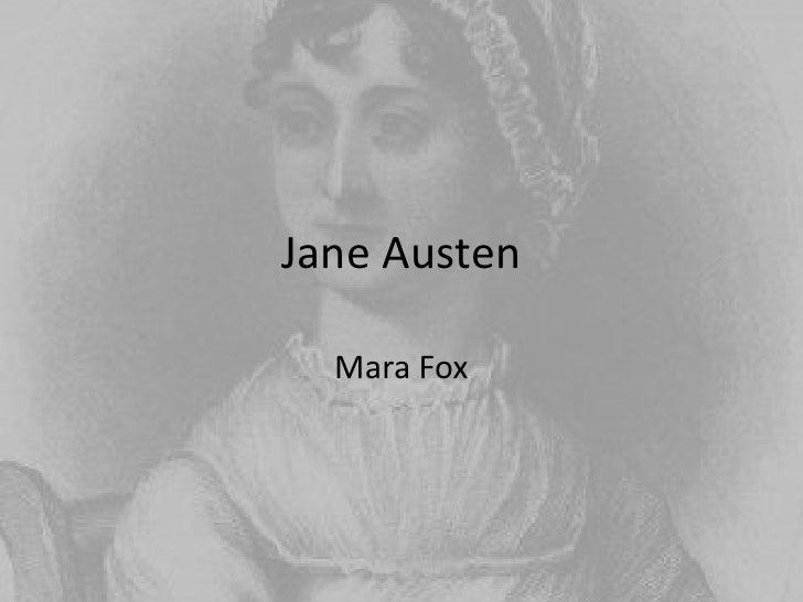 Jane Austen<br />Mara Fox<br />