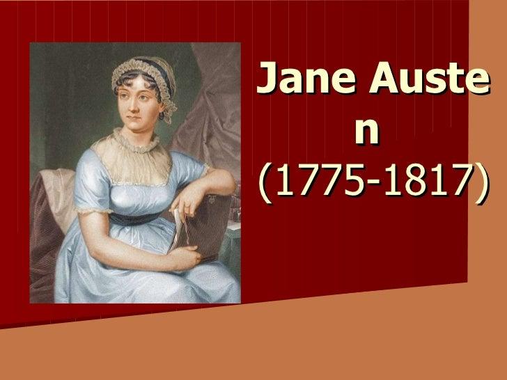 Jane  Aust e n   (1775-1817)