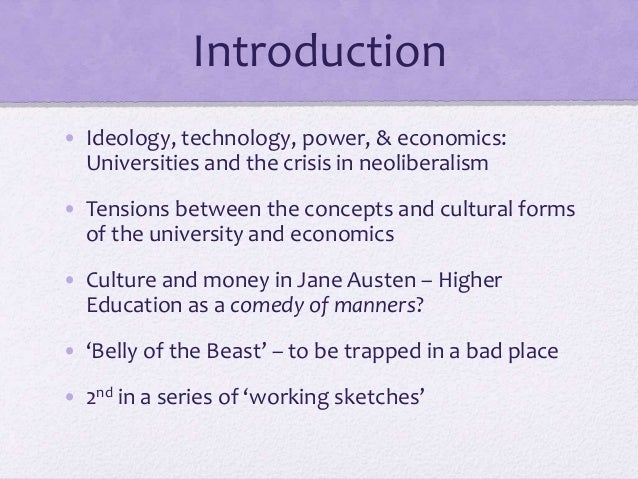 Jane Austen and the Belly of the Beast Part 2: Language and Power (2015) Slide 2