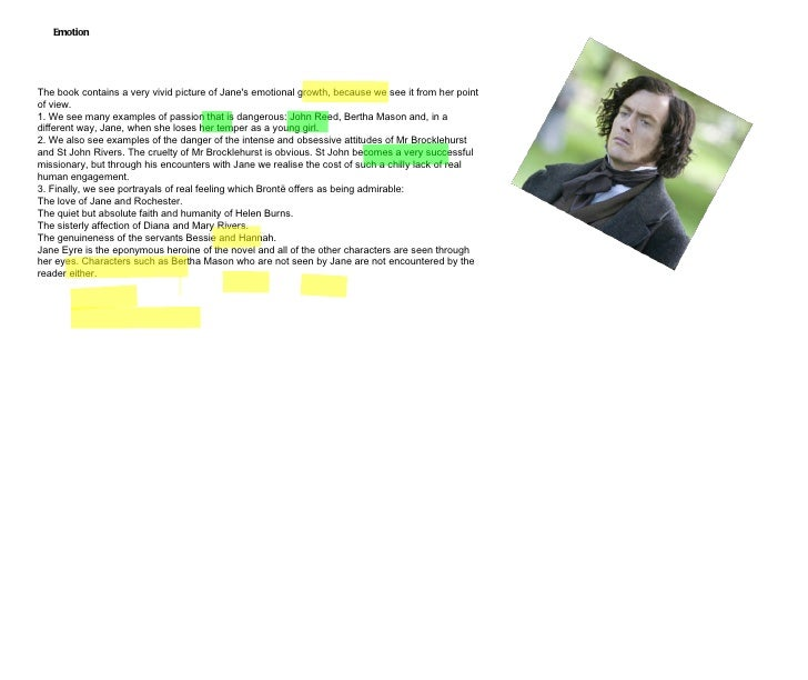jane eyre conclusion analysis Free jane eyre papers, essays, and research papers.