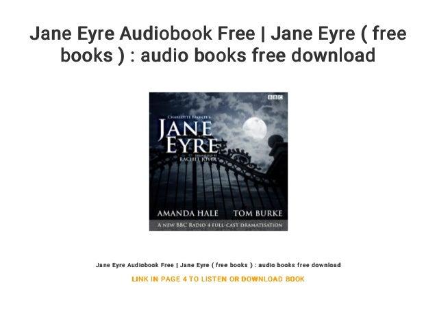 Jane eyre audiobook free download mp3 online   jane eyre.