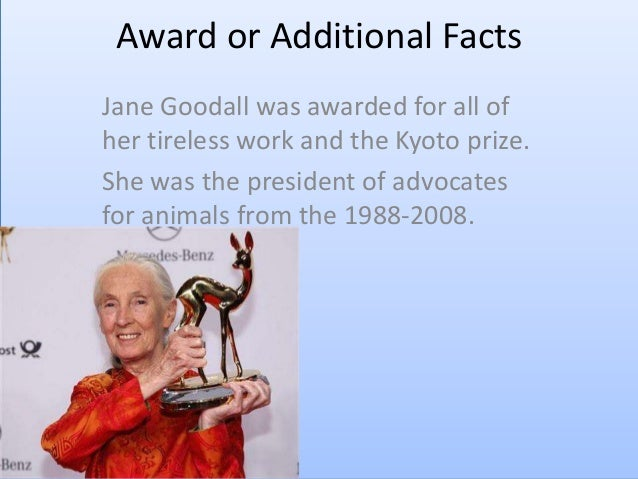 Jane goodall's life movie done