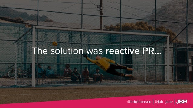The solution was reactive PR... @brightonseo @jbh_jane