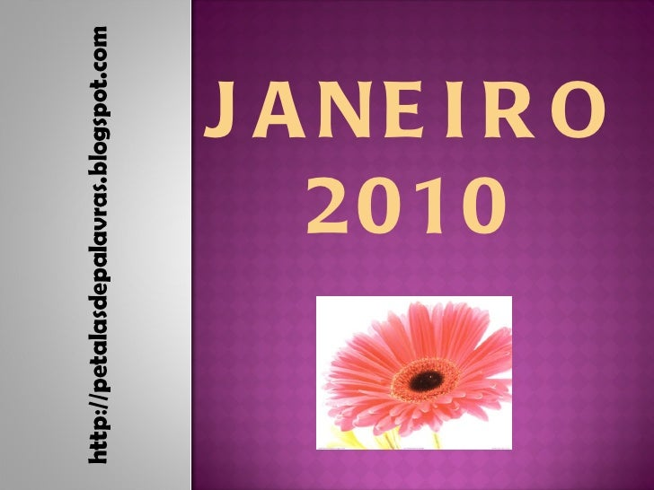 JANEIRO  2010
