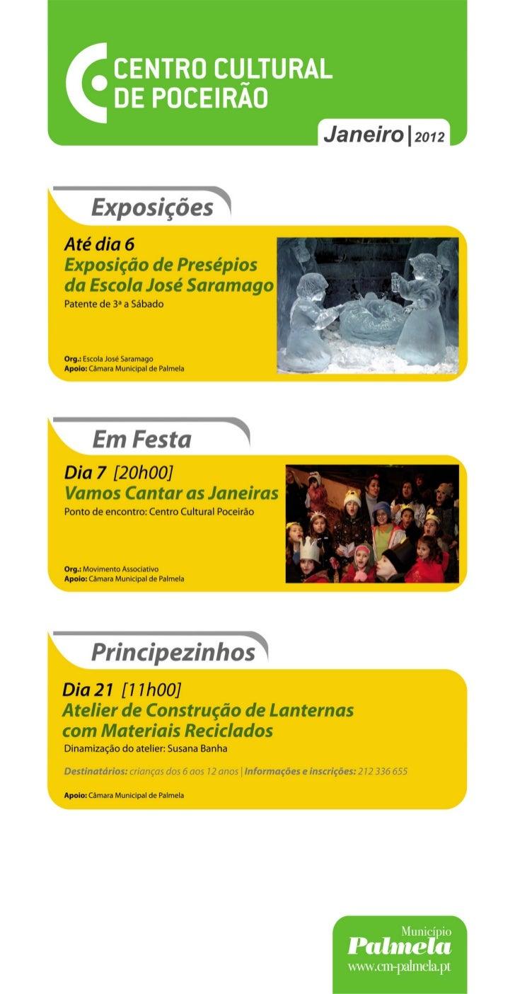 Janeiro 2012 ! Centro Cultural de Poceirão