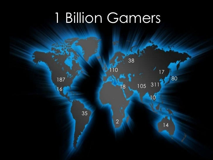 1 Billion Gamers                      38           110                     17187                                       80 ...