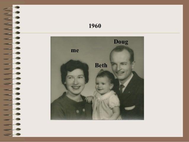 Jane holding Beth - 1960