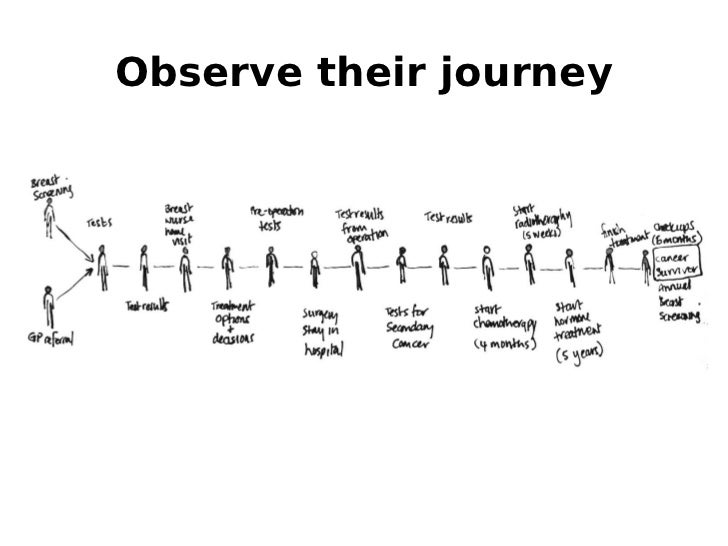Observe their journey