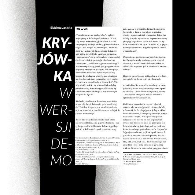 Elżbieta Janicka KRY- JÓW- KA W WER- SJI DE- MO puf, na nim leży książka Tata ucieka zcyrkiem. Jest woda wkranie nad zl...