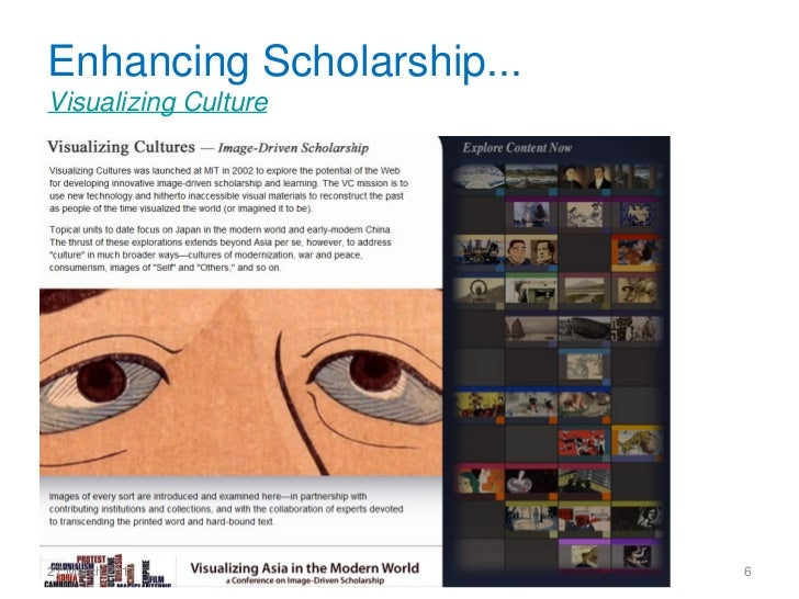 Enhancing Scholarship...Visualizing Culture                      CeRch Seminar Series, Kings College27 March 2011         ...