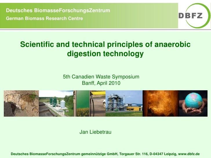 Deutsches BiomasseForschungsZentrum German Biomass Research Centre                                                        ...