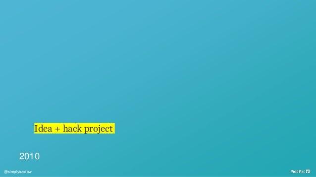 2010 Idea + hack project @simplybastow