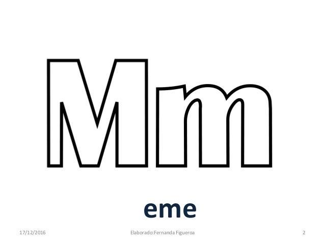 """La letra """"M"""""""