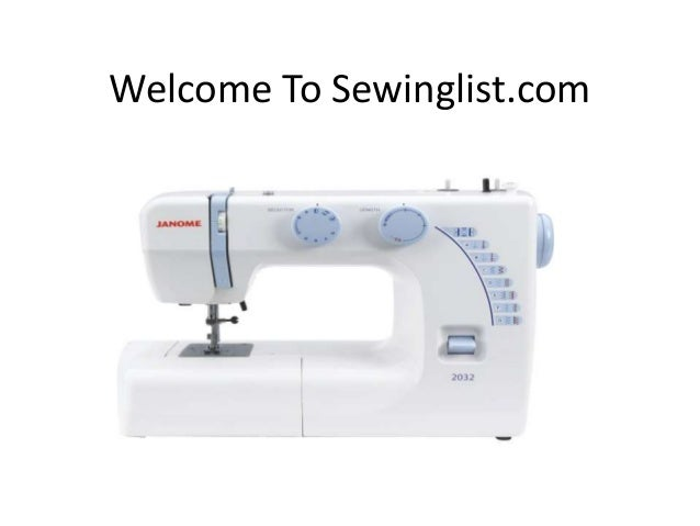 Janome 40 Review Simple Janome Sewing Machine 2032