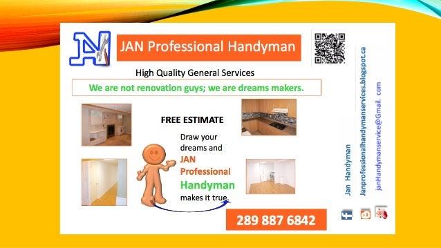 JAN Professional handyman Services