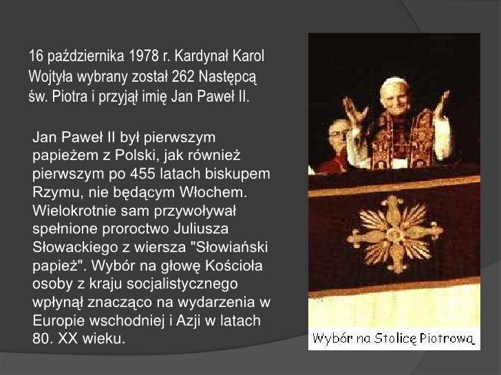 Jan Pawełii Prezentacja