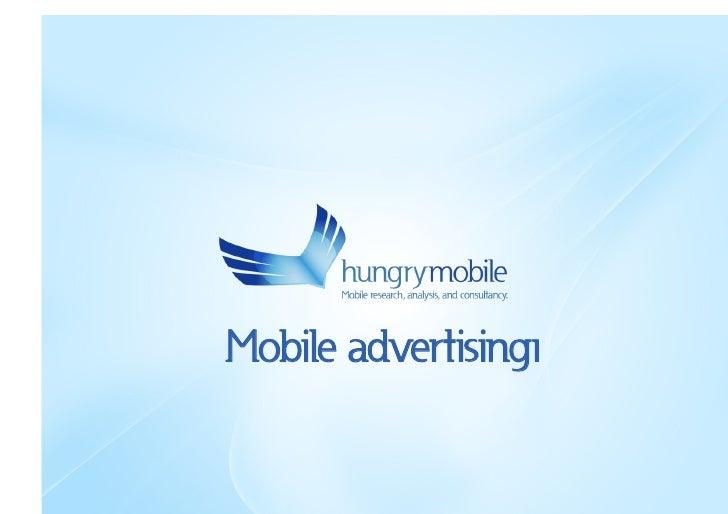 Mobile advertisingı