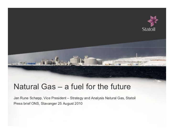 Pressbrief : Natural Gas