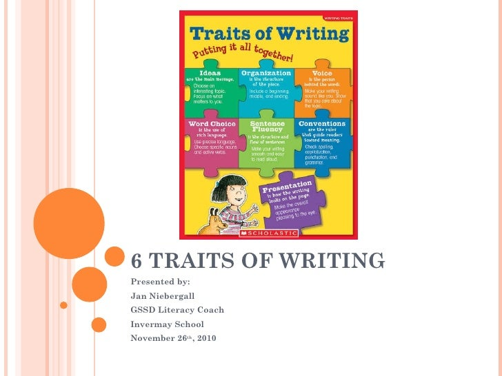 traits of writing Pete's powerpoint station is your destination for free powerpoint presentations for kids and teachers about 6 traits of writing, and so much more.