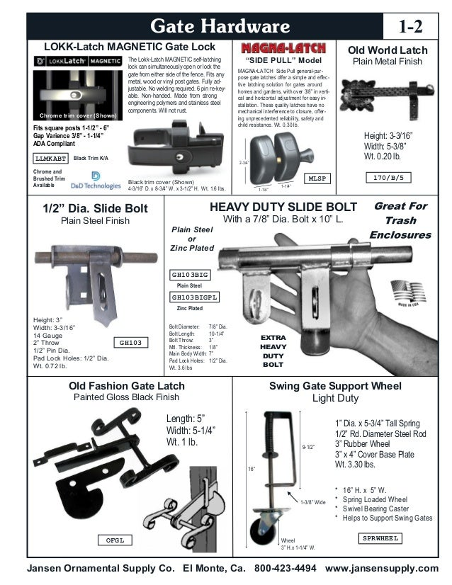 """All Screws Included For Fixing Black Gate Hinges 12/"""" Lenght"""