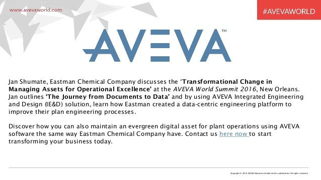Transformational Change in Managing Assets for Operational Excellence…
