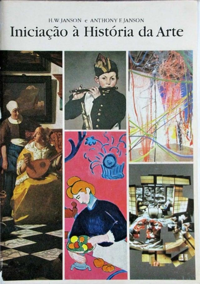 II.WJANSON e ANTHONY EJANSONIniciação à História da Arte