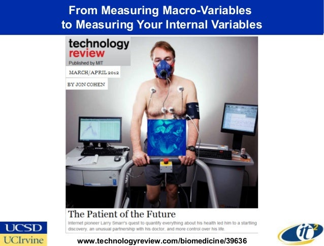 From Measuring Macro-Variablesto Measuring Your Internal Variables  www.technologyreview.com/biomedicine/39636