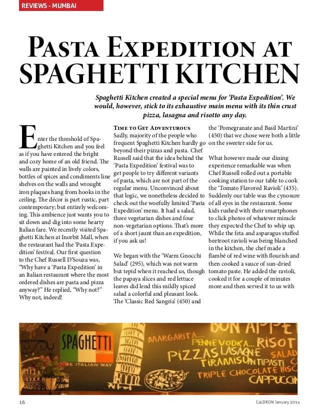 Spaghetti Kitchen Bar New Delhi Delhi