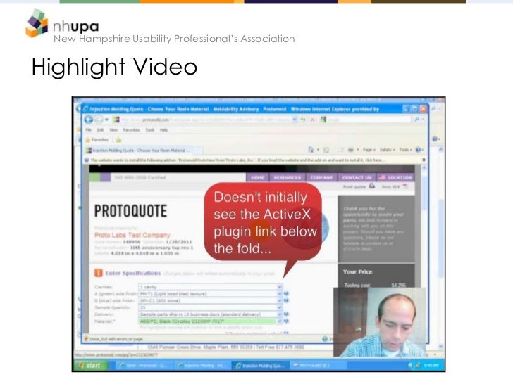 New Hampshire Usability Professional's AssociationHighlight Video